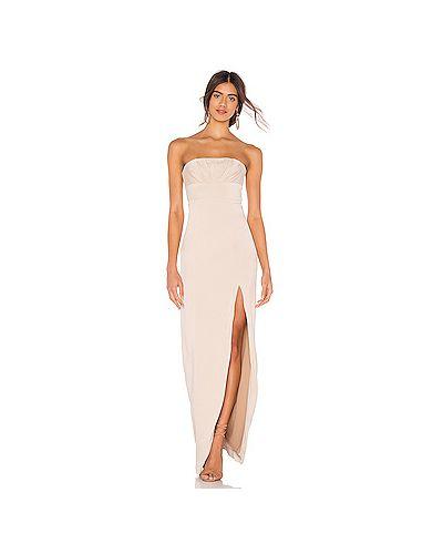Вечернее платье на молнии из вискозы Majorelle