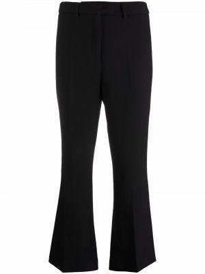 Укороченные брюки - черные Lautre Chose