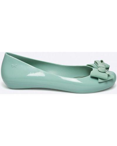Зеленые балетки Zaxy