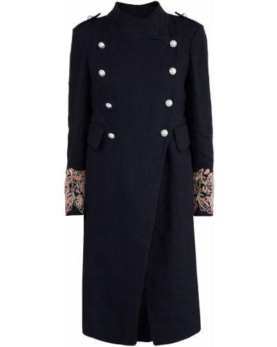 Пальто двубортное с вышивкой Tara Jarmon