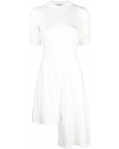 Трикотажное платье миди - белое Yigal AzrouËl