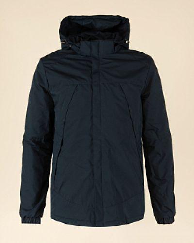 Куртка с капюшоном - синяя каляев