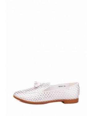 Серебряные кожаные туфли Ditto