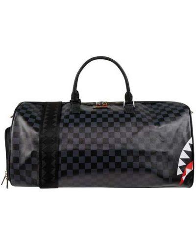 Czarna torebka z paskiem Sprayground