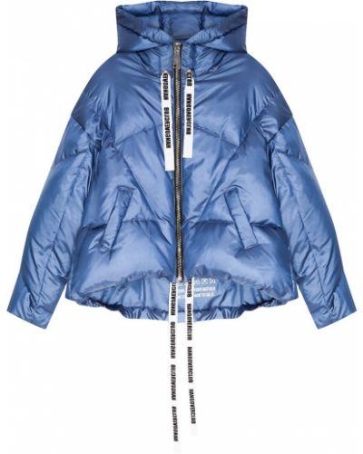 Зимняя куртка с капюшоном нейлоновая Khrisjoy