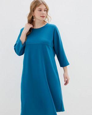 Бирюзовое повседневное платье Svesta