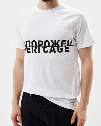 Белая футболка Запорожец Heritage