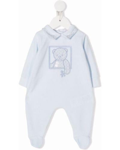Piżama z długimi rękawami - niebieska Le Bebé Enfant