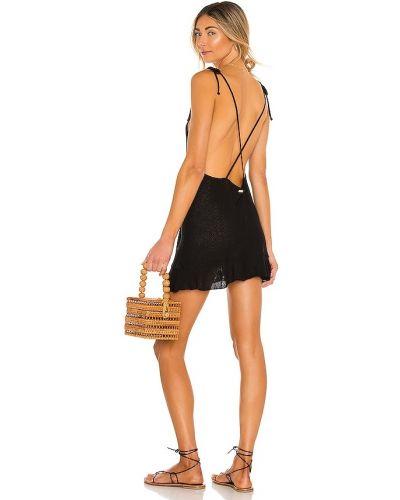 Открытое кружевное черное купальное платье Beach Bunny