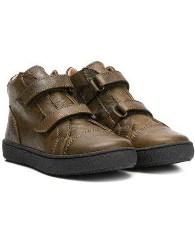 Ботинки зеленый Pèpè