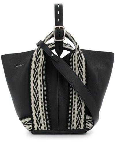 Черная сумка Elena Ghisellini
