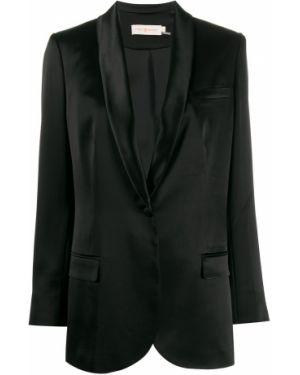 Куртка черная на пуговицах Tory Burch