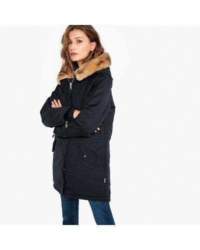 Пальто с воротником-стойкой до колен Schott