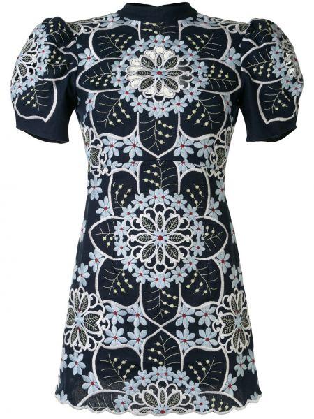 Платье мини с цветочным принтом Alice Mccall