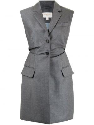 Серый пиджак классический Matériel