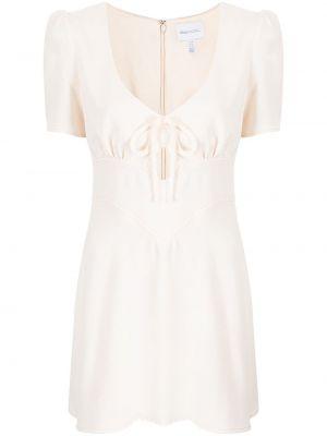 Приталенное платье миди - белое Alice Mccall