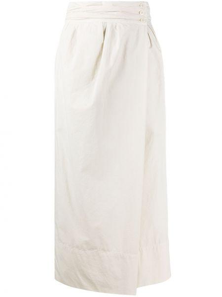 Spódnica midi ołówkowa z kieszeniami Lemaire