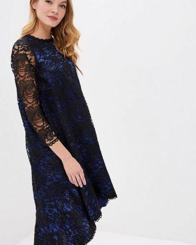 Вечернее платье весеннее синее мадам т