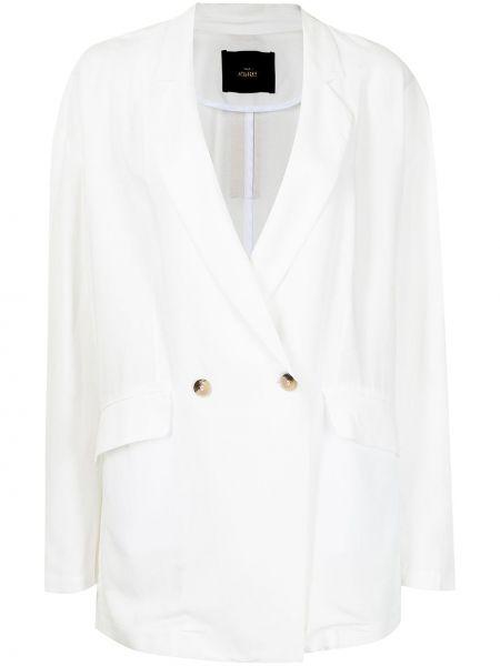 Пиджак оверсайз - белый Twinset