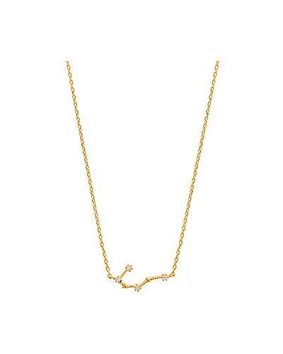 Ожерелье из золота Wanderlust + Co