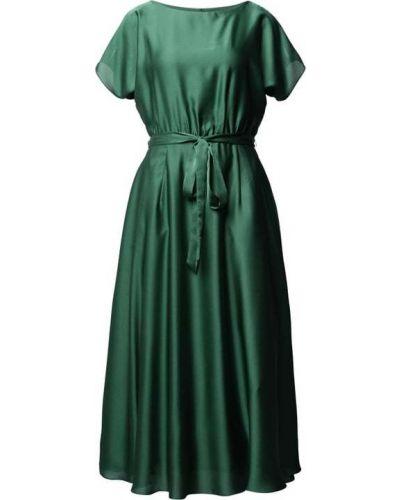 Sukienka koktajlowa - zielona Swing