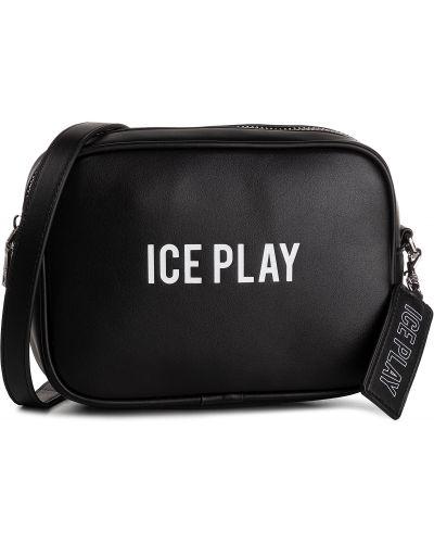 Torba sprzęgło duży czarny Ice Play