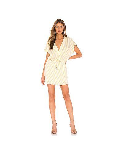 Платье на пуговицах платье-рубашка Paige
