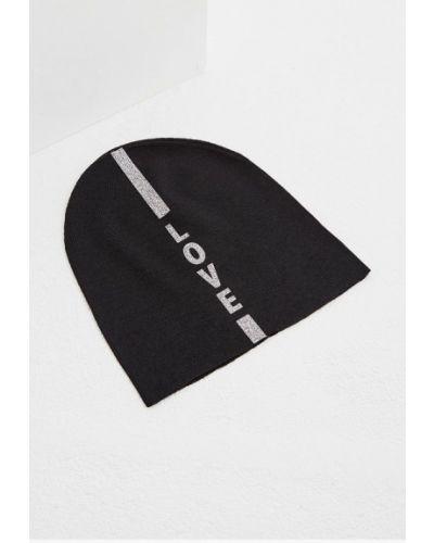 Черная шапка осенняя Furla