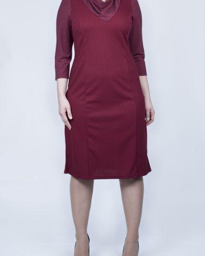Платье трикотажное бордовый Lacywear