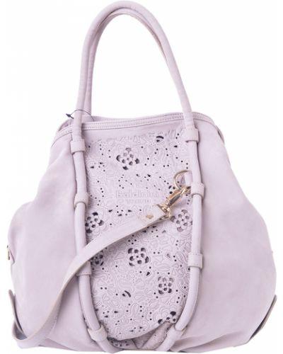 Бежевая сумка Baldinini