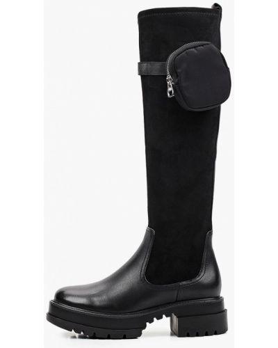Ботфорты - черные Just Couture