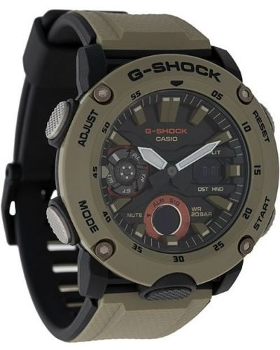 Часы водонепроницаемые зеленый G-shock