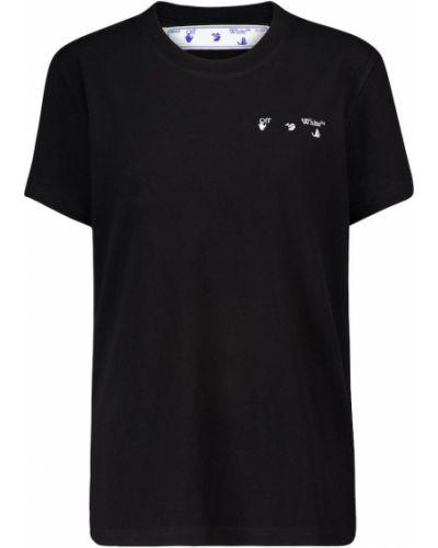 Bawełna codziennie bawełna czarny koszula Off-white