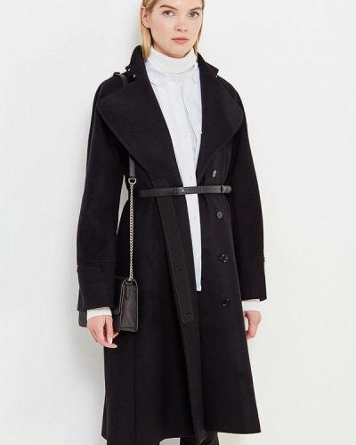 Пальто - черное Patrizia Pepe