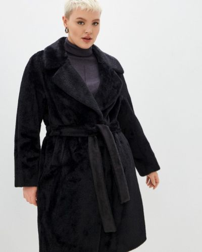 Шуба - черная Electrastyle