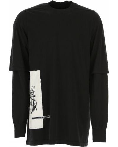 Czarny t-shirt bawełniany Drkshdw