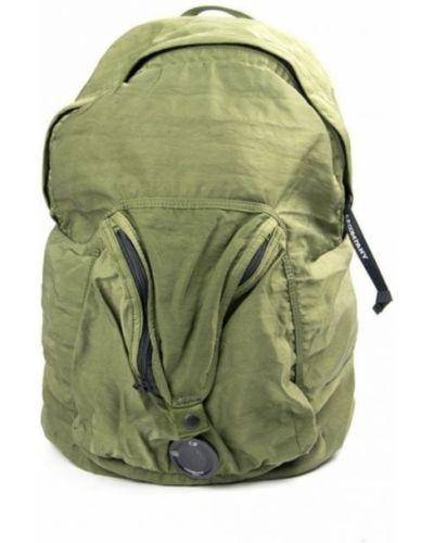 Zielony plecak w paski C.p. Company
