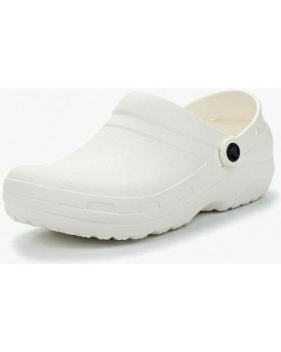 Белые сабо Crocs