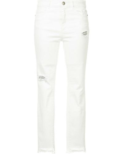 Рваные джинсы на пуговицах Marc Cain