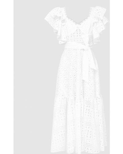 Белое платье макси Charo Ruiz