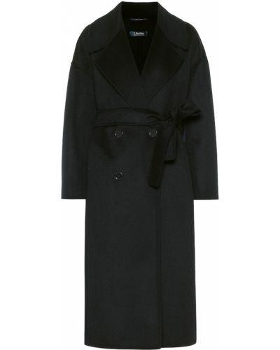 Классическое синее шерстяное пальто классическое свободного кроя 's Max Mara