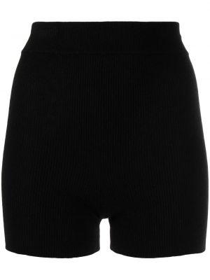 Вязаные шорты - черные Cashmere In Love