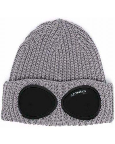 Szara czapka beanie C.p. Company
