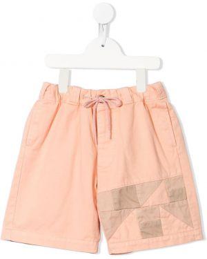 Оранжевые прямые хлопковые брюки с поясом Go To Hollywood