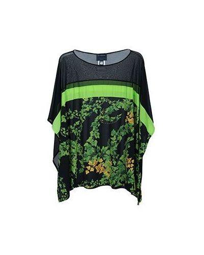 Зеленая блузка Class Cavalli
