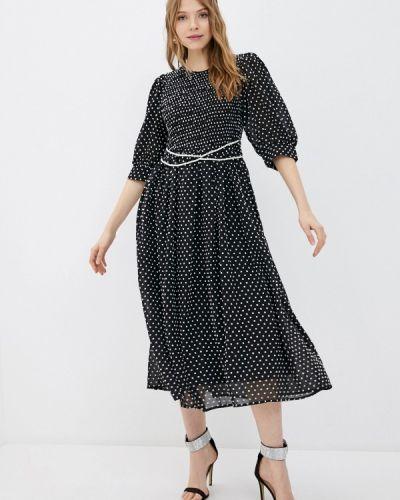 Прямое черное платье А-силуэта Sister Jane