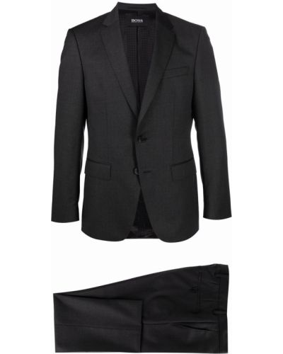 Шерстяной костюм - черный Boss Hugo Boss