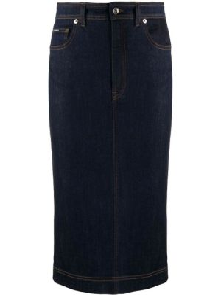 Юбка карандаш миди джинсовая Dolce & Gabbana
