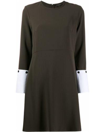 Платье макси на пуговицах с длинными рукавами Antonelli