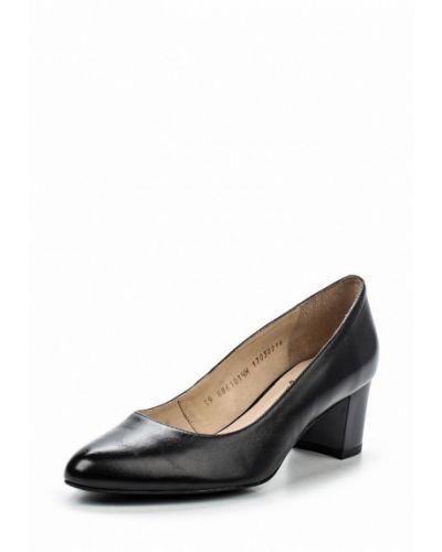 Кожаные туфли на каблуке для офиса Ralf Ringer